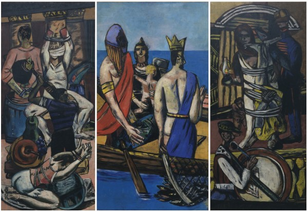 'Departure' (1932–35) by Beckmann. (Courtesy the Museum of Modern Art)