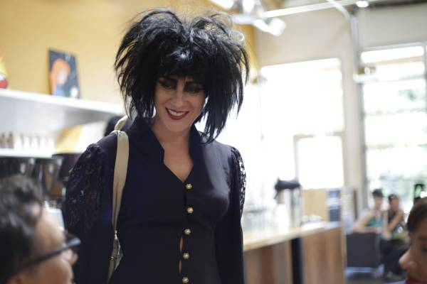 Chloe Sevigny channeling her inner Siouxsie Sioux (Photo courtesy of Portlandia/IFC).