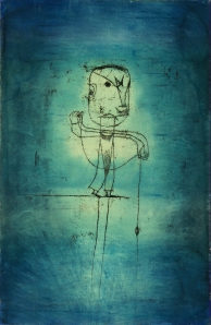 'The Angler' (1921) by Klee. (Courtesy the Neue Gallery)