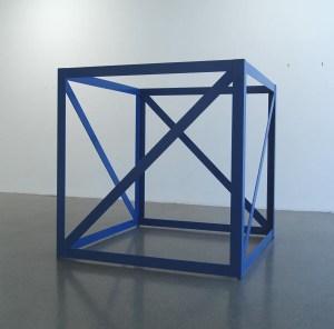 Rasheed Araeen, 'First Structure,' 1966-67. (Aicon Gallery/© Rasheed Araeen)