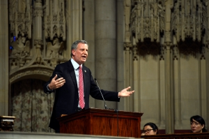 Mayor Bill de Blasio. (Photo: Rob Bennett/NYC Mayor's Office)