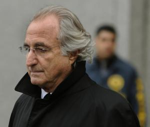 Bernie Madoff. (Photo: Timothy Clary/Getty)