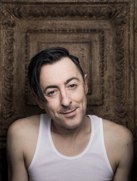 Alan Cumming photographed for the NY Observer