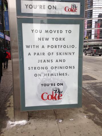 Drug-fueled puns, by Coke.
