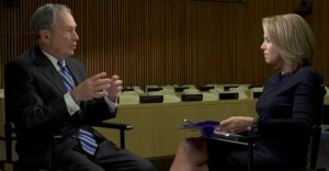 Katie Couric Interviews Mike Bloomberg at the UN