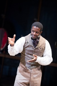 Adrian Lester in 'Red Velvet.' (©Tristram Kenton)
