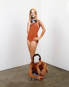 'Cybill Shepherd/Phone Sex' (1992)  by Heinecken. Petzel Gallery, New York. (© 2014 The Robert Heinecken Trust)