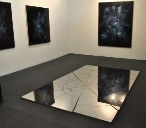 Zhao Zhao at Chambers Fine Art. (Photo by Zoë Lescaze)