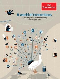 The Economist on social media