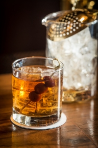 For unfussy drinkers, the bar makes classic drinks like the Manhattan. Not on the menu: their barrel-aged Negroni, steeped for 20 days.