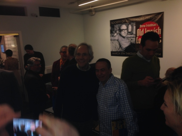 Robert Klein and Gilbert Gottfried