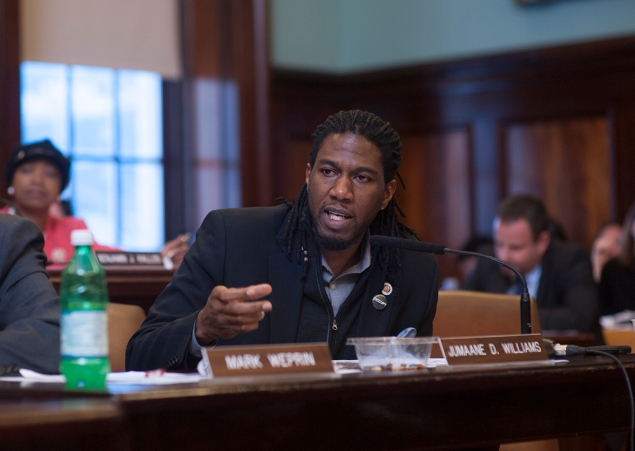 Councilman Jumaane Williams. (Photo: William Alatriste/NYC Council)