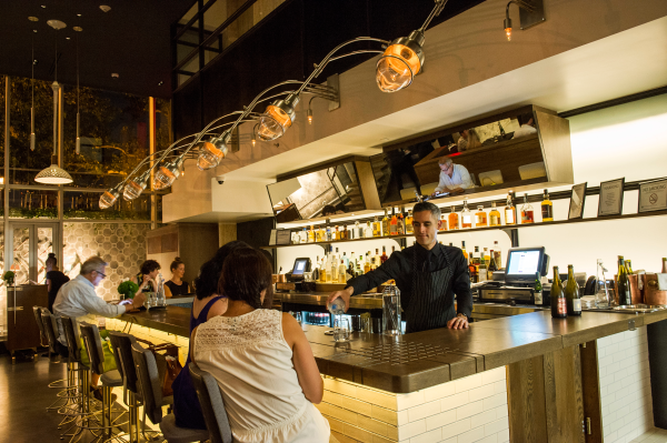 The Little Elm, an 8-seat counter at the King & Grove Hotel