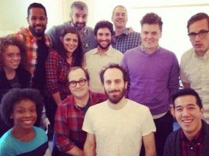 The staff of Late Night With Seth Meyers