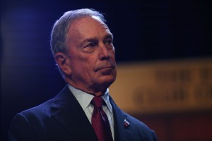 Michael Bloomberg. (Photo: Spencer Platt/Getty)