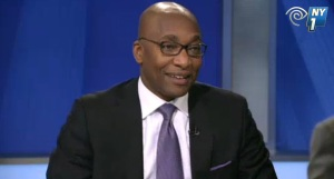 Rev. Mike Walrond on NY1 last night.