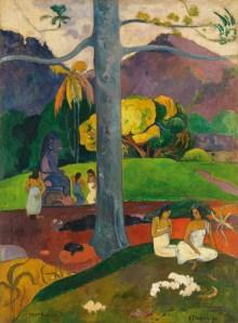 'Mata Mua' (1892) by Gauguin. (© Colección Carmen Thyssen-Bornemisza en depósito en el Museo Thyssen-Bornemisza/ Scala/ Art Resource)