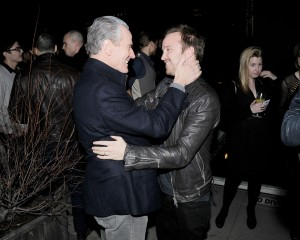 Bryan Cranston and Aaron Paul. (Courtesy Patrick McMullan)