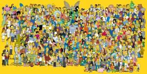 'The Simpsons.' (Courtesy Fox)