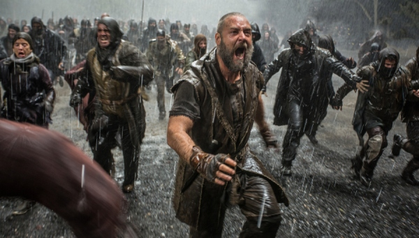 A scene from Noah, Russell Crowe's new biblical biopic.