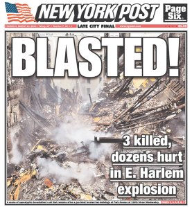 Today's New York Post. (Photo: newseum.org)