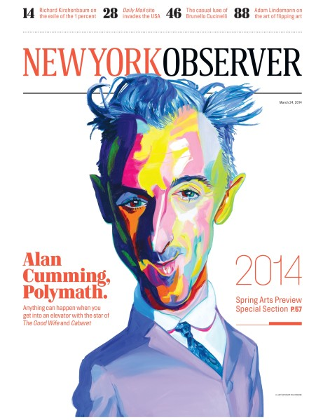 Alan Cumming New York Observer Cover