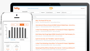 Bitly's seen most of its revenue from taking advantage of its own data set for brand management services.