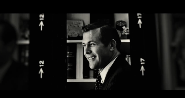 A young Rumsfeld in The Unknown Known, a new Errol Morris documentary.