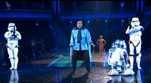 Billy Dee Williams on Dancing With the Stars.