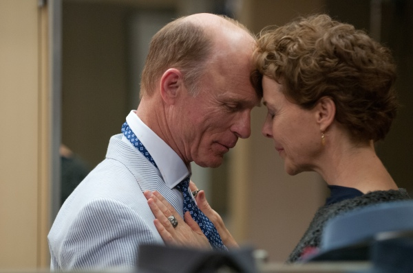 Ed Harris and Annette Bening star in 'The Face of Love.'