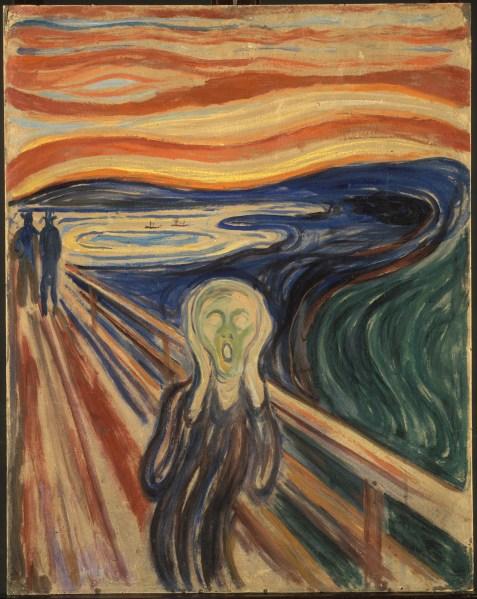 Edvard Munch, The Scream, 1893.