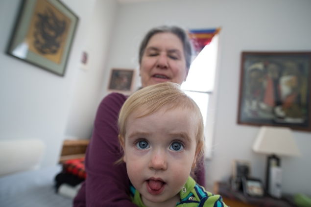 They make not be the stereotypical Brooklyn transplant, but brokers say that grandparents are a growing presence in the borough.