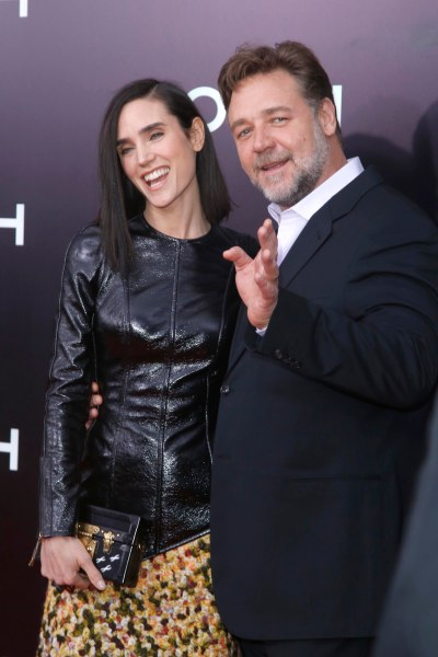 Jennifer Connelly, Russell Crowe== PARAMOUNT PICTURES Presents the US Premiere of NOAH== The Zeigfeld Theatre, New York== March 26, 2014== ©Patrick McMullan== Photo-JIMI CELESTE/patrickmcmullan.com==