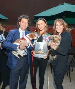 Herb Karlitz, Georgina Bloomberg and Rachel Hale McKenna