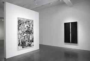 Installation view of 'Robert Longo: Gang of Cosmos' at Metro Pictures. (Courtesy Metro Pictures)