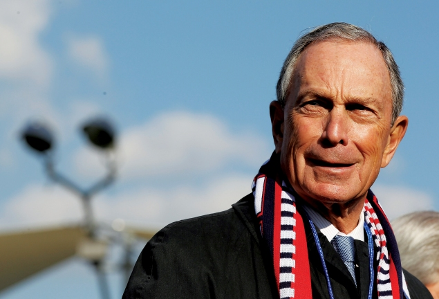 Former New York Mayor Michael Bloomberg. (Photo via Getty Images)