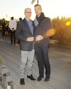 Jon Stryker, with Slobodan Randjelovic. (Patrick McMullan.)