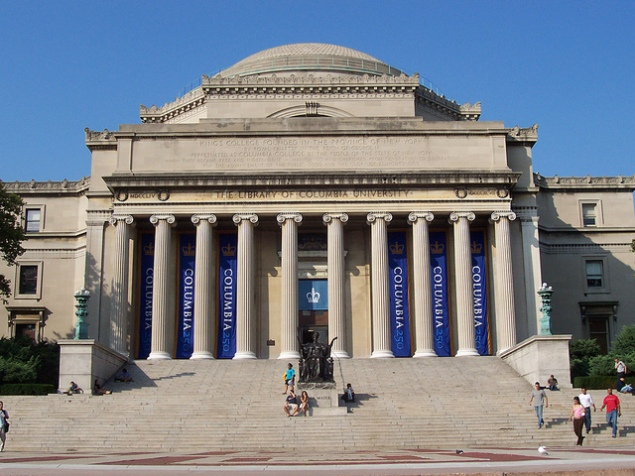 Columbia University (Flickr).