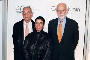 Kasper König, Ruf, Guggenheim Director Richard Armstrong. (Courtesy PMC)