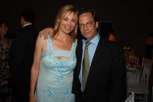 Pamela Farkas and Andrew Paul. (Patrick McMullan)