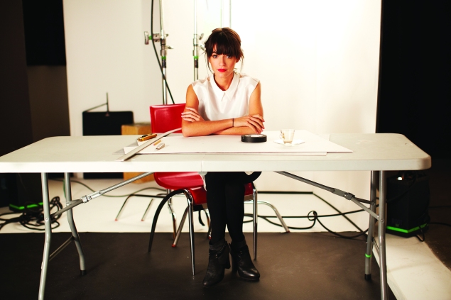 Jessica Walsh, partner in Sagmeister & Walsh, made a splash with '40 Days of Dating.'
