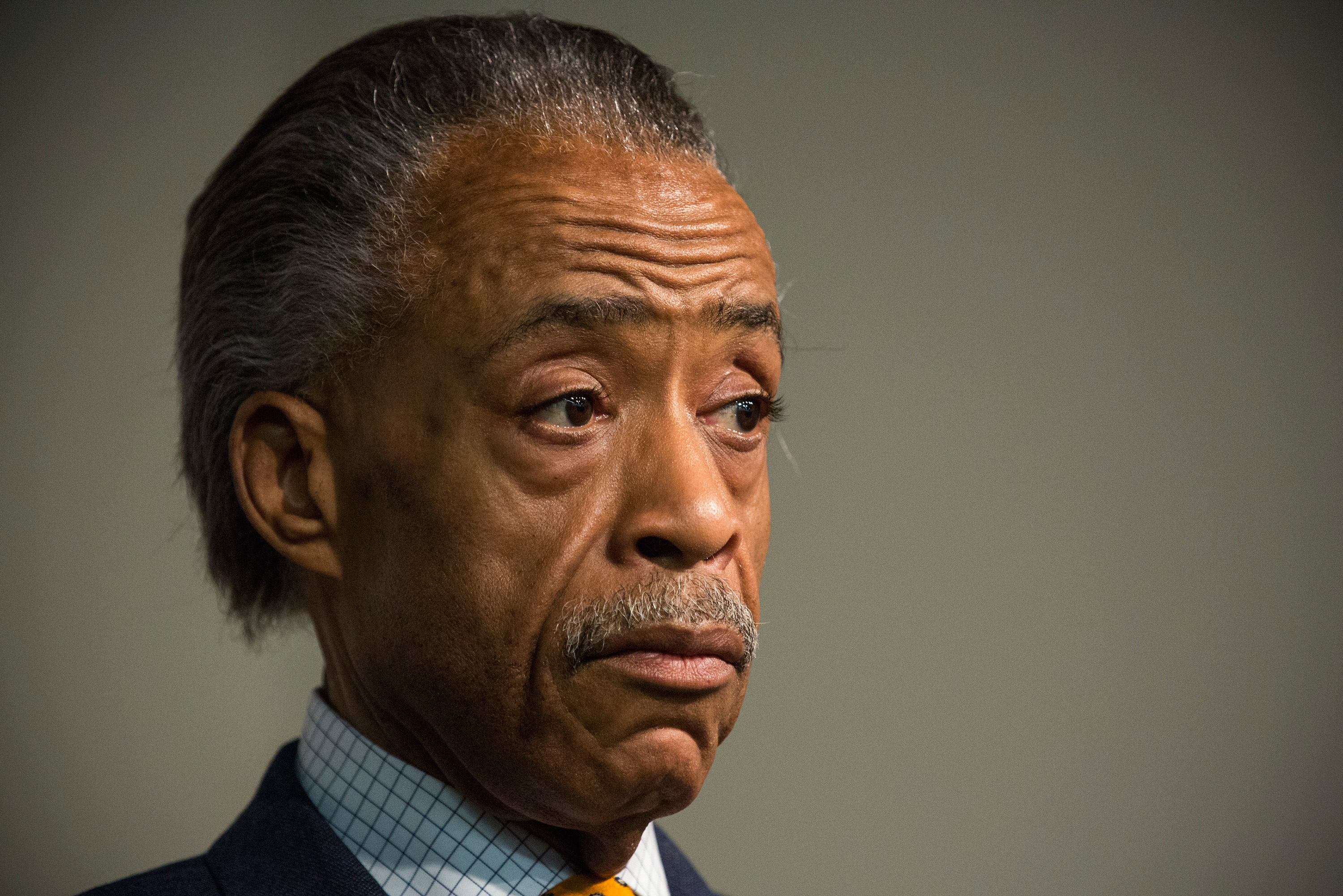 Rev. Al Sharpton (Photo: Andrew Burton/Getty)
