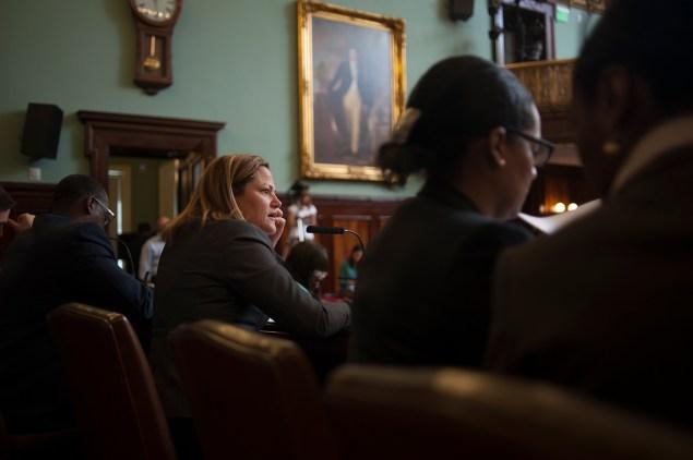 A City Council hearing. (Photo: William Alatriste/NYC Council)