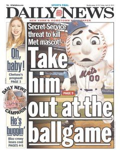 Oh no! Today's Daily News.