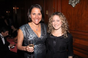 Dana Luttway, left, with Lisa Mackessy. (Patrick McMullan)