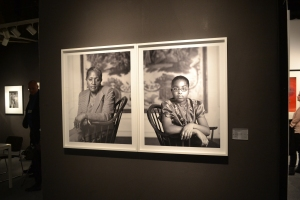 A diptych by Dawoud Bey at  Daiter.