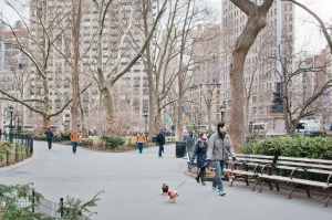 The area surrounding the park has become a hot bed of real estate activity. Leslie Parrott/The New York Observer