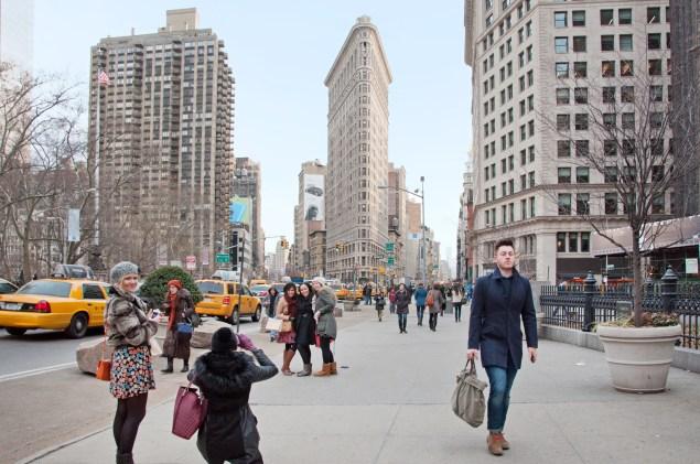 Madison Square Park. Leslie Parrott/The New York Observer,