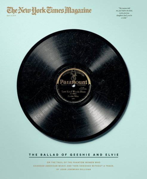 The cover of this week's Times Magazine.
