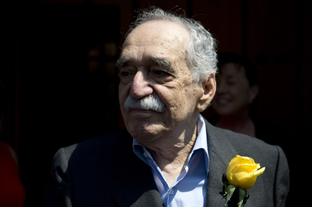 Gabriel Garcia Marquez. (Photo via Getty Images)